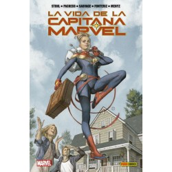 Comic, La Vida de la Capitana Marvel