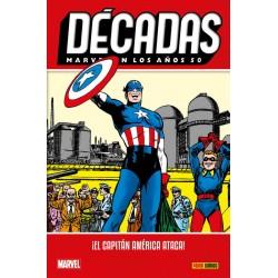 Comic, MARVEL: 50s - El Capitan America Ataca