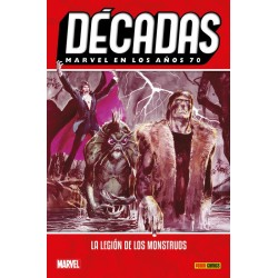 Comic, MARVEL: 70s - La Legion de los Monstruos