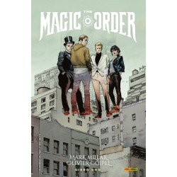 Comic, The Magic Order