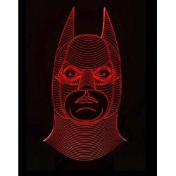 Lampara Efecto 3d, Batman