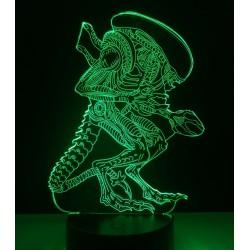 Lampara Efecto 3d,  Alien vs Predator, Prometheus