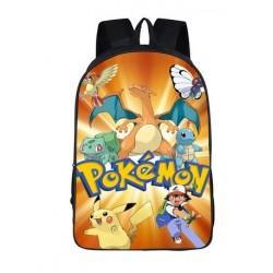 Mochila Impermeable, Pokemon,  42cm Doble compartimiento
