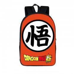 Mochila Impermeable, Dragon Ball  ,  42cm Doble compartimiento