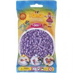 Hama Beads, MIDI violeta Pastel, 1000 piezas