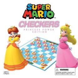 Juego de Mesa, CHECKERS: SUPER MARIO PRINCESAS, juego de damas