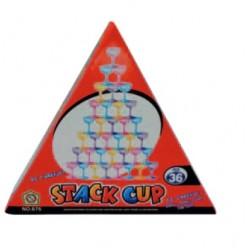 Juego de Mesa, Stack Cup, juegos de torre de copas