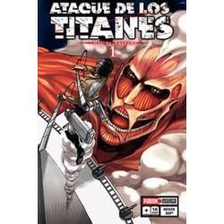 Manga, Ataque de los Titanes, N.1