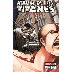 Manga, Ataque de los Titanes, N.2