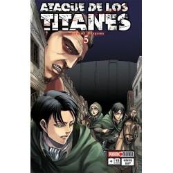 Manga, Ataque de los Titanes, N.5