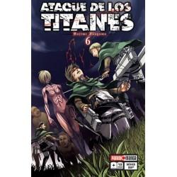 Manga, Ataque de los Titanes, N.6