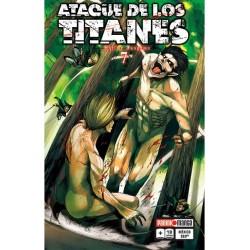 Manga, Ataque de los Titanes, N.7