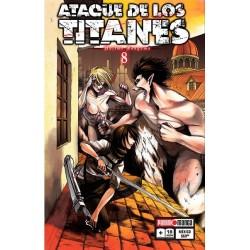 Manga, Ataque de los Titanes, N.8