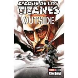 Manga, Ataque de los Titanes - OUTSIDE