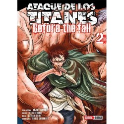 Manga, Ataque de los Titanes - Before the Fall, N.2