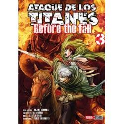 Manga, Ataque de los Titanes - Before the Fall, N.3