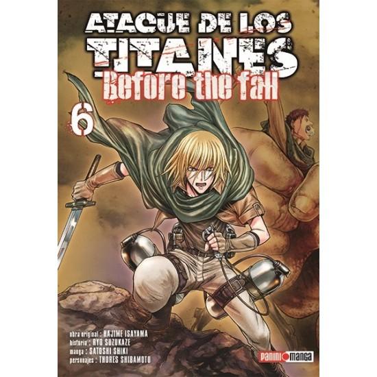 Manga, Ataque de los Titanes - Before the Fall, N.6