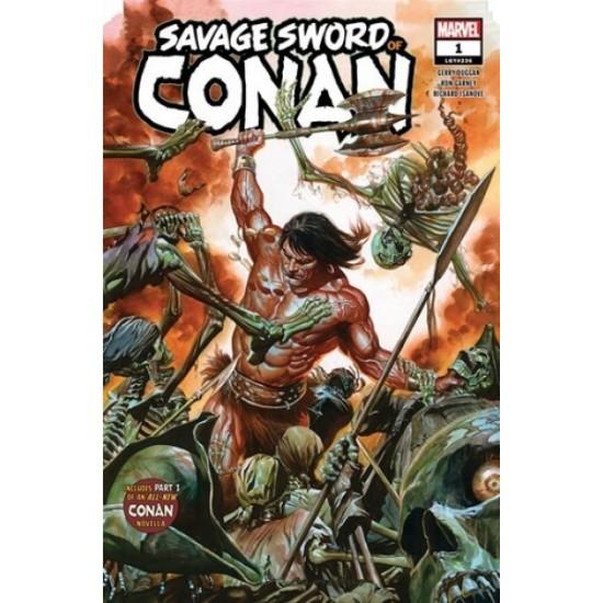 Comic, La Espada Salvaje de Conan, N.1
